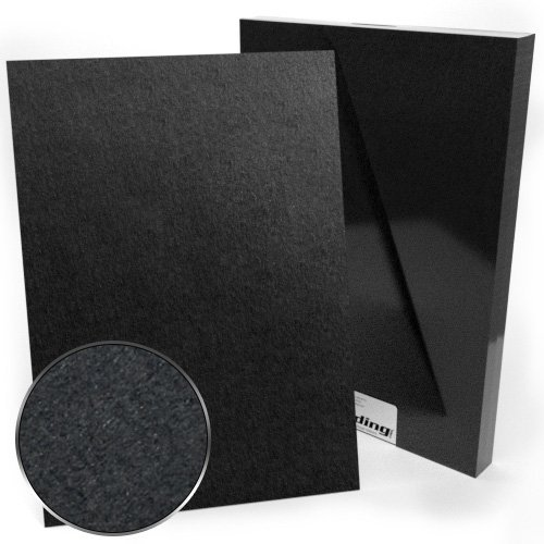 A3 Size 80pt Black Chipboard Covers - 25pk (MYCBBA3-80) Image 1