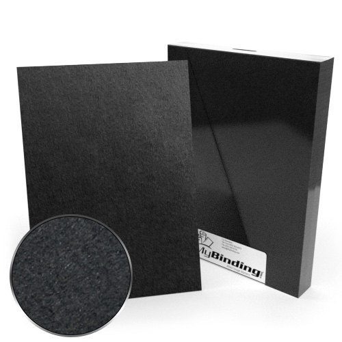 A4 Size 100pt Black Chipboard Covers - 25pk (MYCBBA4-100) Image 1