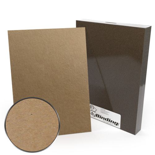 A4 Size 18pt Chipboard Covers - 25pk (MYCBA4-18) Image 1