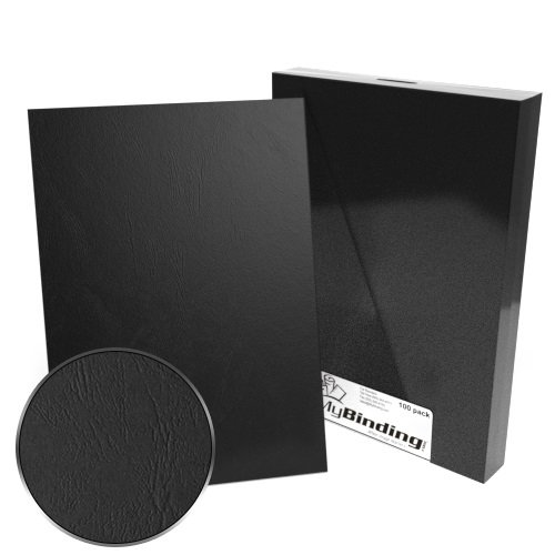 A4 Size Grain Paper Binding Covers - 100pk (MYGRA4) - $46.03 Image 1
