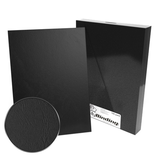 A4 Size Grain Paper Binding Covers - 100pk (MYGRA4) Image 1