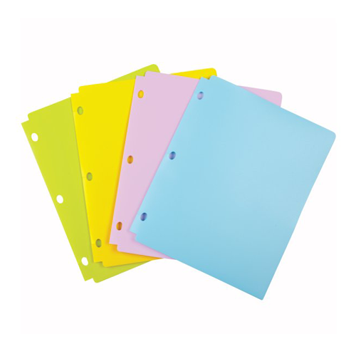 Pocket Folders for Binders Image 1