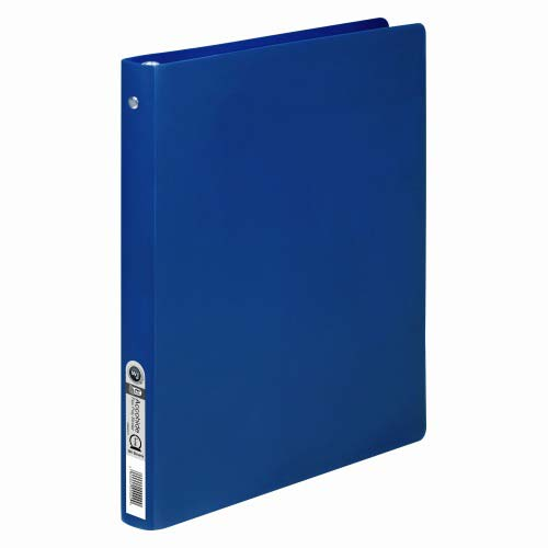 "Acco 1/2"" Dark Royal Blue 23pt ACCOHIDE Poly Ring Binder (ACC-39702) Image 1"