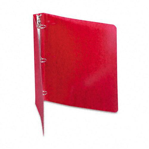"Acco 1"" Executive Red PRESSTEX Round Ring Binder (ACC-38619) Image 1"