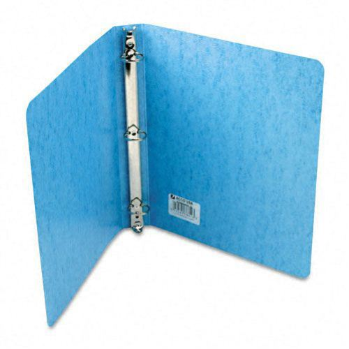 "Acco 1"" Light Blue PRESSTEX Round Ring Binder (ACC-38612) Image 1"