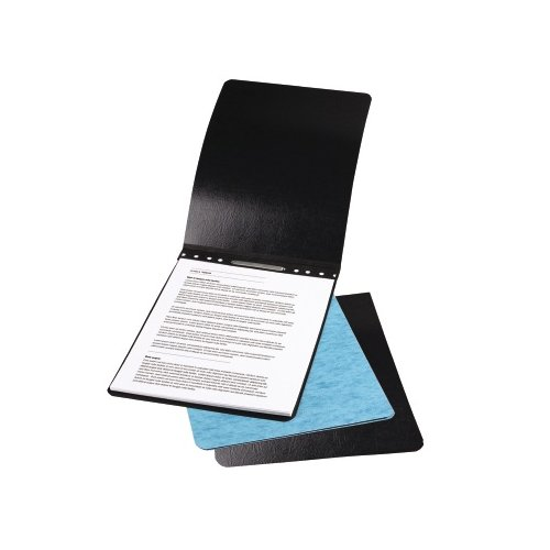 "Acco 2"" Black 8.5"" x 11"" PRESSTEX Report Cover (Top Binding) 2pk - ACC-22271A (A7022271A) Image 1"