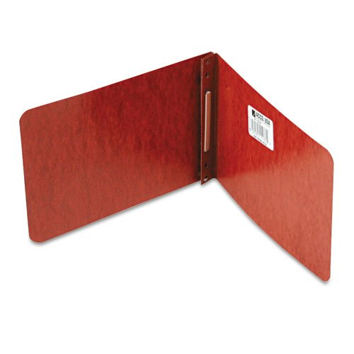 "Acco 2"" Red 5.5"" x 8.5"" Pressboard Report Cover - ACC-11038 (A7011038) Image 1"