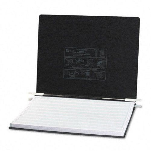 "Acco Black 14 7/8"" x 11"" PRESSTEX Hanging Data Binder (ACC-54071) Image 1"