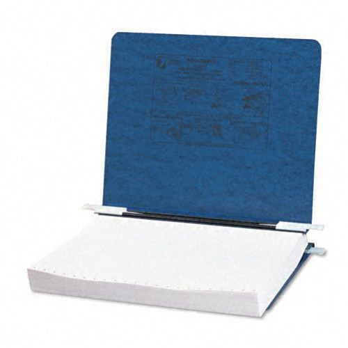 "Acco Dark Blue 11"" x 8.5"" PRESSTEX Hanging Data Binder (ACC-54123) Image 1"