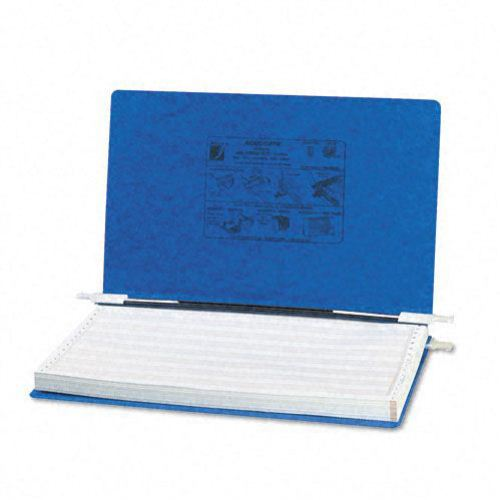 "Acco Dark Blue 14 7/8"" x 8.5"" PRESSTEX Hanging Data Binder (ACC-54043) Image 1"