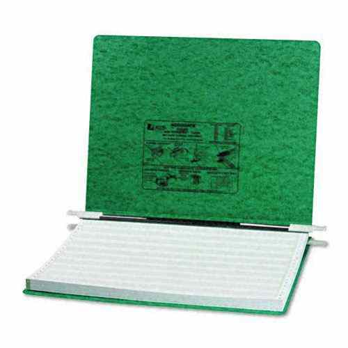 "Acco Dark Green 14 7/8"" x 11"" PRESSTEX Hanging Data Binder (ACC-54076) Image 1"