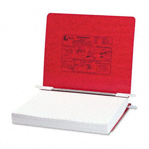 "Acco Executive Red 11"" x 8.5"" PRESSTEX Hanging Data Binder (ACC-54129) Image 1"
