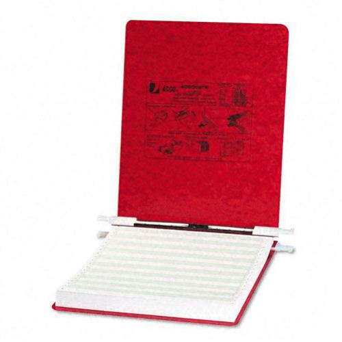"Acco Executive Red 9.5"" x 11"" PRESSTEX Hanging Data Binder (ACC-54119) Image 1"