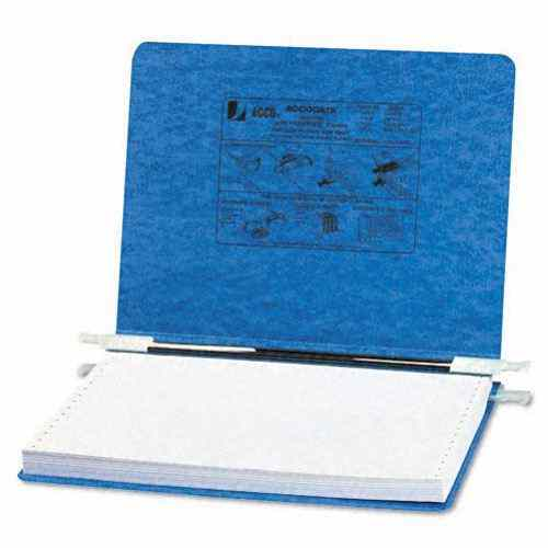 "Acco Light Blue 12"" x 8.5"" PRESSTEX Hanging Data Binder (ACC-54132) Image 1"
