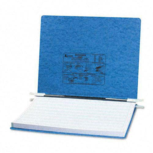 "Acco Light Blue 14 7/8"" x 11"" PRESSTEX Hanging Data Binder (ACC-54072) Image 1"