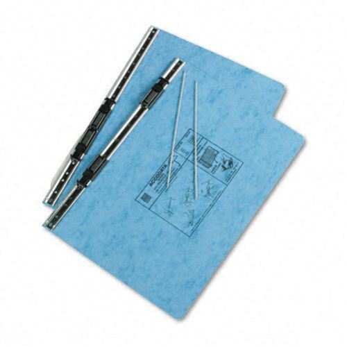"Acco Light Blue 14 7/8"" x 8.5"" PRESSTEX Hanging Data Binder (ACC-54042) Image 1"