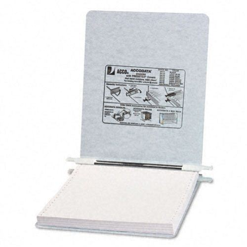 "Acco Light Gray 9.5"" x 11"" PRESSTEX Hanging Data Binder (ACC-54114) Image 1"