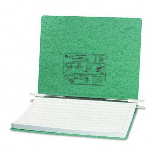 "Acco Light Green 14 7/8"" x 11"" PRESSTEX Hanging Data Binder (ACC-54075) Image 1"
