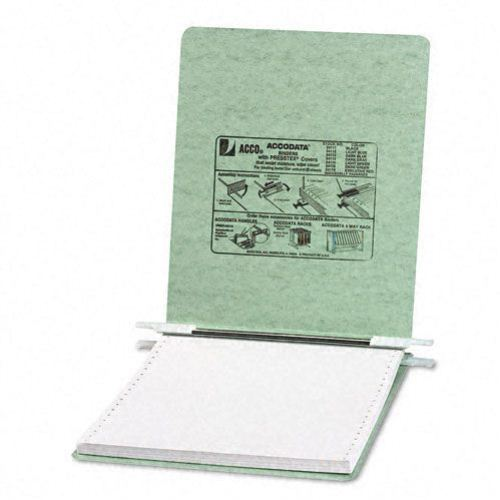 "Acco Light Green 9.5"" x 11"" Presstex Hanging Data Binder - A (ACC-54115) Image 1"
