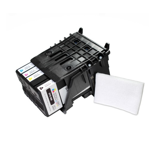 Afinia Label L501/L502 Replacement Printhead (Dye) with Set of 4 Dye Inks (AFN30986) Image 1