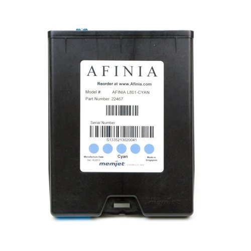 Afinia Label L801 Cyan Memjet Ink Cartridge (AFN22467) Image 1