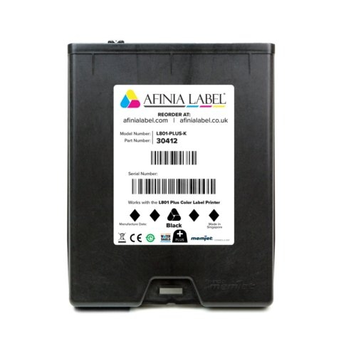 Afinia Label L801 Plus Memjet VersaPass N Black Ink Cartridge (AFN30412) Image 1