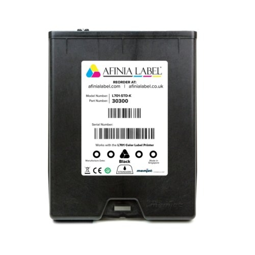 Afinia Label L701 Memjet Black Ink Cartridge (AFN30300) Image 1