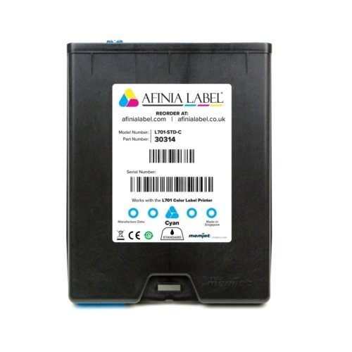 Afinia Label L701 Memjet Cyan Ink Cartridge (AFN30314) Image 1