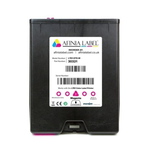 Afinia Label L701 Memjet Magenta Ink Cartridge (AFN30321) Image 1