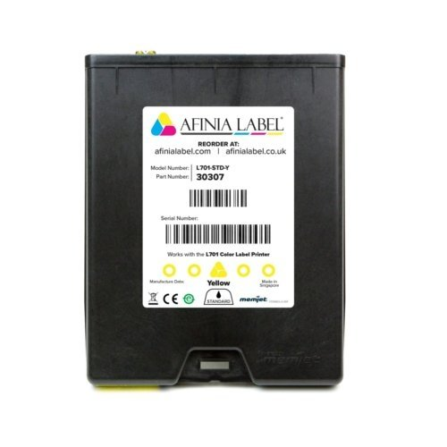 Afinia Label L701 Memjet Yellow Ink Cartridge (30307) Image 1
