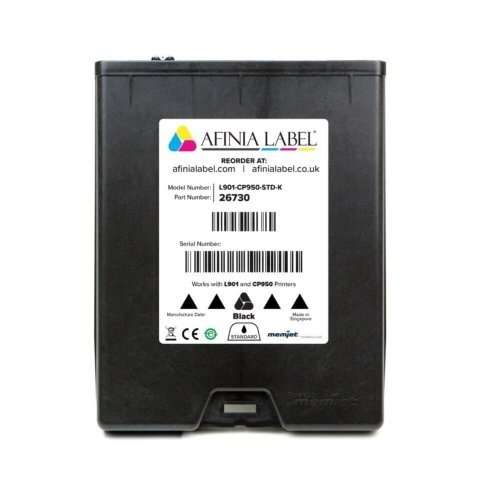 Afinia Label L901/CP950 Standard Black Memjet Ink Cartridge (AFN26730) Image 1