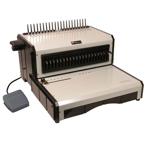 Akiles Electric Plastic Comb Binding Machine (ALPHABIND-CE) Image 1
