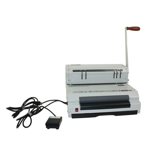 Akiles CoilMac ECI 5:1 Coil Binding Machine w/ Electric Inserter (COILMACECI51), Binding Machines Image 1