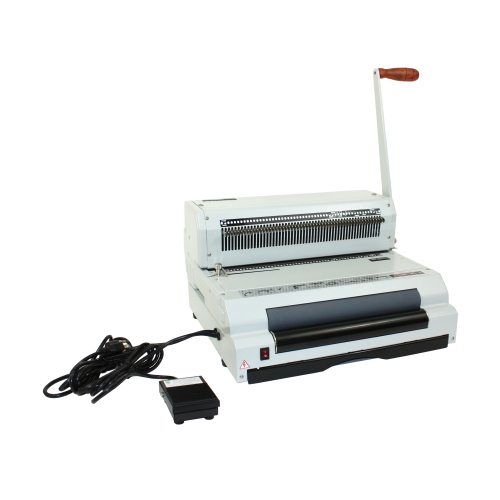 Oval Hole Coil Binding Machine