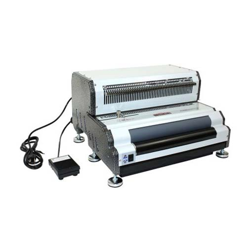 Akiles CoilMac EPI+ Electric Oval Hole Coil Binding Machine - Open Box (MYR-CoilMac-EPI+), Clearance Equipment Image 1