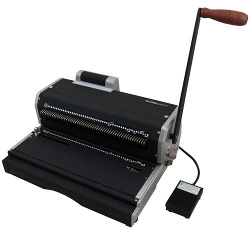 Akiles CoilMac ER+ Plus Oval Hole Coil Binding Machine with Inserter (Coilmac-ER+) Image 1