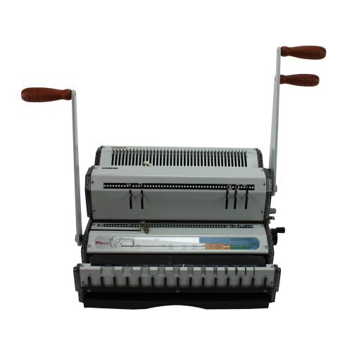 Coil Binding Machine with Disengageable Punches