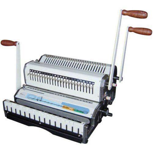 Plastic Comb Punching Binding Machine Image 1