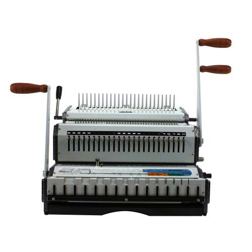 Akiles DuoMac C31 Plastic Comb and 3:1 Wire Binding Machine - Open Box (MYR-AKDUOMACC31) Image 1