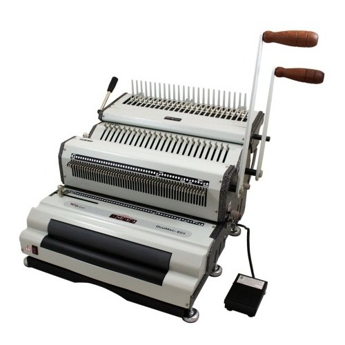 Plastic Coil Binding Punch Machine