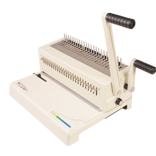 Akiles Refurbished Megabind 1 Legal Size Plastic Comb Binding Machine (R4MEGABIND)