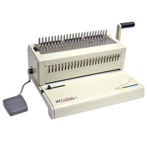 Akiles Megabind 1E Electric Legal Size Comb Binding Machine - Open Box (MYR-AKMEGABIND1E) Image 1
