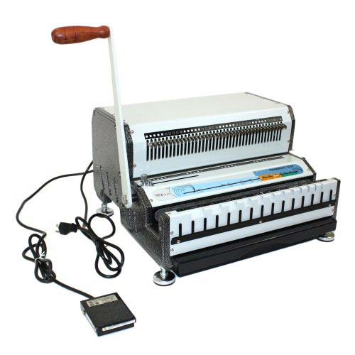 Akiles WireMac E 2:1 Electric Wire Binding Machine - Open Box (MYR-18-063-8) Image 1