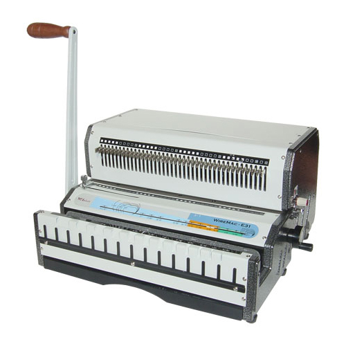 Akiles WireMac E 3:1 Electric Wire Binding Machine (WIREMACE31)