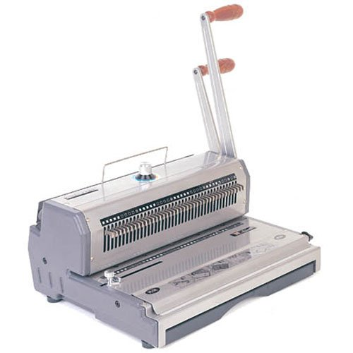 Akiles WireMac 3:1 Manual Double Loop Wire Binding Machine (Wiremac31), Binding Machines Image 1