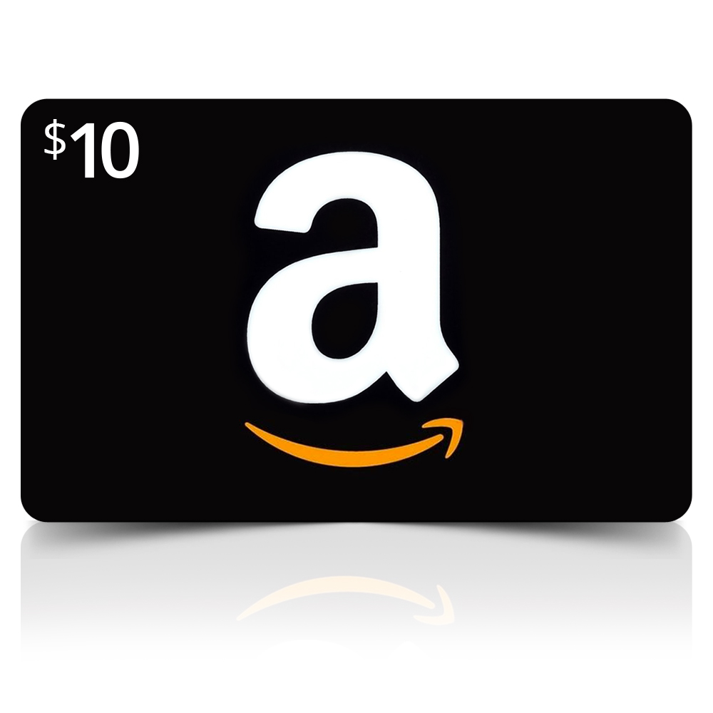 Amazon Card ($10 Value) (amazoncard10) Image 1