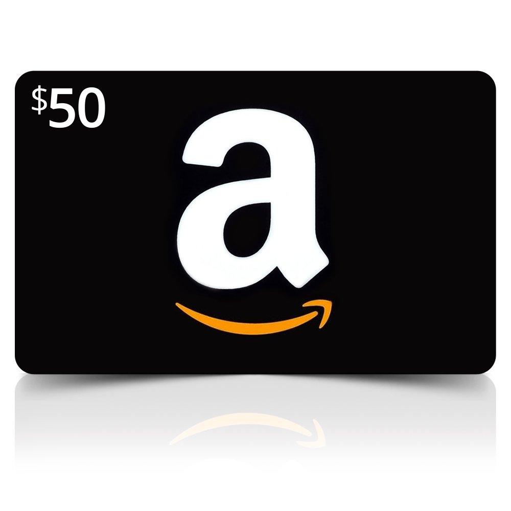 Amazon Card ($50 Value) (amazoncard50) - $50 Image 1