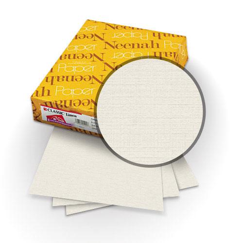 "Neenah Paper Antique Gray 80lb 8.75"" x 11.25"" Classic Linen Cover - 25pk (MYCLIN8.75X11.25AG) - $14.79 Image 1"