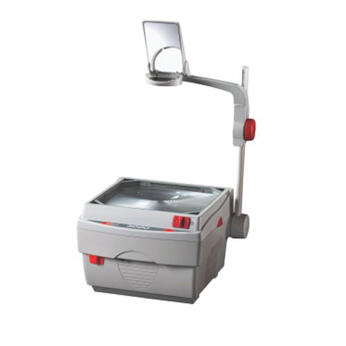 Quartet Apollo 3000 Light Gray Overhead Projector (APO-V3000M) Image 1