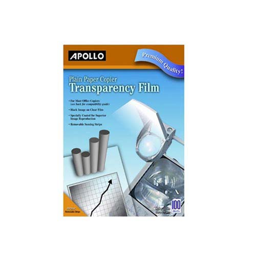 Quartet Apollo Plain Paper Copier Transparency Film (APO-PP201CE) Image 1